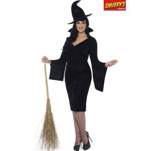 Déguisement sorcière chat noir femme Halloween