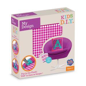 Orb factory My Design Coussin à décorer Alphabet Kids D.I.Y