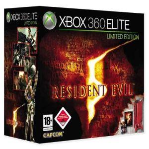 Microsoft Xbox 360 Elite 120 Go + Resident Evil 5 + Super Street Fighter II Turbo HD remix