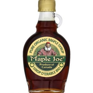 Maple joe Pur sirop d'érable Bio