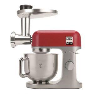 Kenwood Robot pâtissier KMX855RD Kmix Rouge + Hachoir KAX962ME
