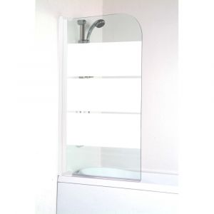 Mcd Aqua+ - Pare-baignoire MISSI 1 VOLET SIMPLE verre 4 mm - LT AQUA +