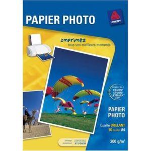 Avery-Zweckform C9434-50 - 50 feuilles de papier photo supérieur brillant 200g/m² (A4)