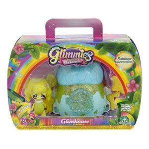 Giochi Preziosi Glimmies GLN042 - Coffret GlimHouse Rainbow Friends Exclusive Maison Gland