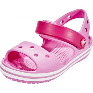 Crocs Crocband Sandal Kids, Mixte Enfant Sandales, Rose (Candy Pink/Party Pink), 33-34 EU