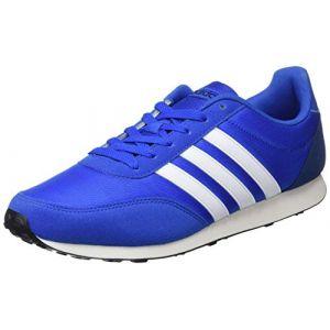 Adidas V Racer 2.0, Chaussures de Fitness Homme, Bleu (Azul/Ftwbla/Azumis 000), 43 1/3 EU