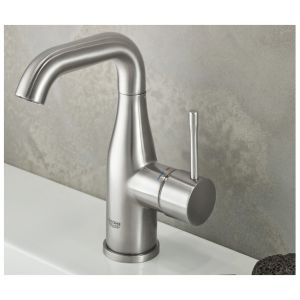 Grohe Mitigeur Lavabo Essence Taille M Hard Graphite Comparer