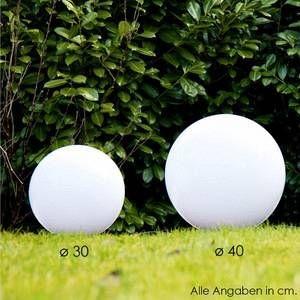 Hofstein Boule lumineuse Miau Blanc, 1 lumière - Moderne - Extérieur - Miau