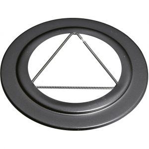 Isotip Joncoux Isotip Rosace Pour Tuyau Apollo Pellets Email 0,7 - 80 Mm - Noir