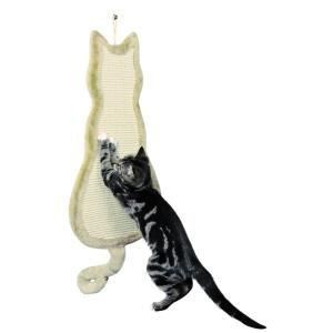 Trixie Griffoir en forme de chat (35 x 69 cm)