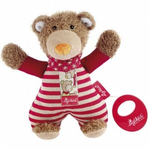 Sigikid Peluche musicale Ours Wild and Berry Bears