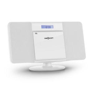 OneConcept V-13 - Chaîne stéréo CD MP3 USB montage mural