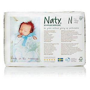 Naty Couches Naty Préma taille 0 (1-4,5 kg) - paquet de 26