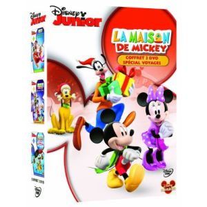 Coffret La Maison de Mickey - Volume 1 : À la rescousse du Père Noël + Décollage pour Mars + La course en ballon avec Donald