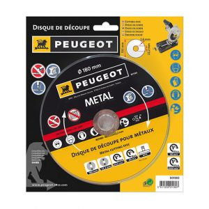 Peugeot Disque 180mm métal pour mini-tonçonneuse
