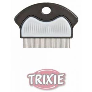 Trixie Peigne anti puces et poussière 21 cm pour chien