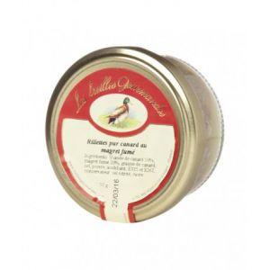 Les treilles gourmandes Rillettes pur canard au magret fumé (55 Gr)