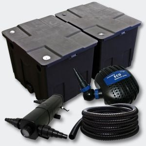 Kit de filtration de b in Bio Filtre 60000l Pompe éco UVC 18W