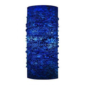 Buff Fairy Snow Tour de Cou Femme, Night Blue, FR Fabricant : Taille Unique