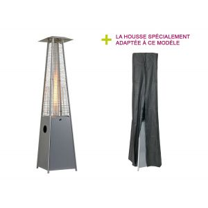 Favex Flamme - Parasol chauffant à gaz
