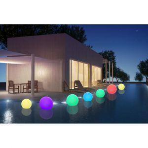 Batimex Sphère flottante à LED sans fil télécommandable 30cm - Multicolore