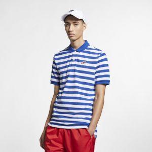 Nike Polo piqué Sportswear pour Homme - Bleu - Taille S - Male