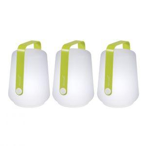 Fermob Lot de 3 lampes Balad Hauteur 12 cm