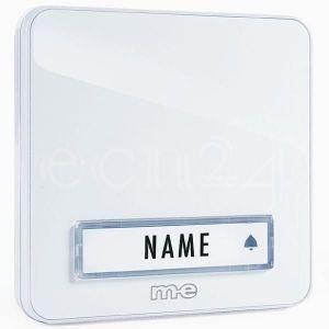 M-e Bouton de sonnette KTA 1 foyer blanc GmbH