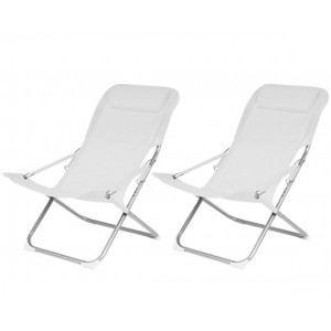 Proloisirs Nouméa - 2 chaises relax