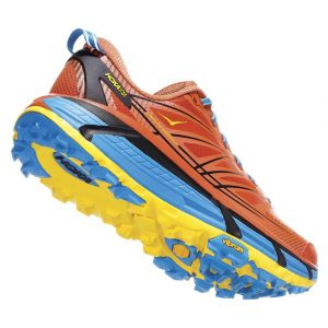 Hoka One One - Mafate Speed 2 - Chaussures de trail taille 9, rouge/bleu