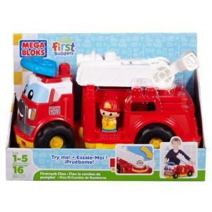 Mega Bloks 08428U First Builders - Finn le camion de pompier