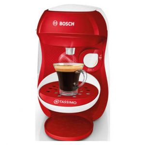 Bosch TASSIMO HAPPY TAS1006 Rouge + 4 packs