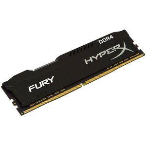 Kingston HyperX Fury Noir 8 Go DDR4 2666 MHz CL16