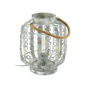 Eglo Lampe à poser HAGLEY Or, 1 lumière - Vintage - Intérieur - HAGLEY - Délai de livraison moyen: 10 à 14 jours ouvrés. Port gratuit France métropolitaine et Belgique dès 100 €.