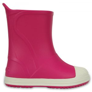 Crocs Bottes Enfant Candy Pink / Oyster Bump It Rain