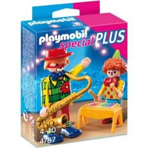Playmobil 4787 Special Plus - Clowns musiciens
