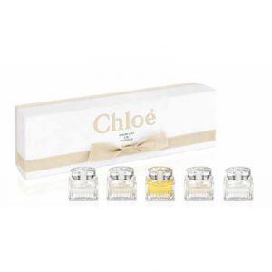Chloé Coffret de 5 miniatures : Parfums de Roses
