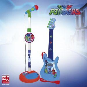 Reig Musicales Ensemble guitare et micro amplificateur Pyjamasques