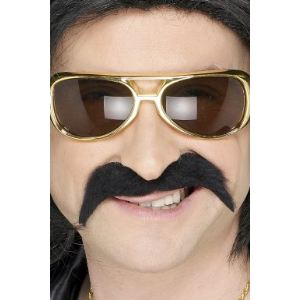 Moustache hippie