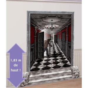 Amscan Décoration murale Halloween : couloir de manoir