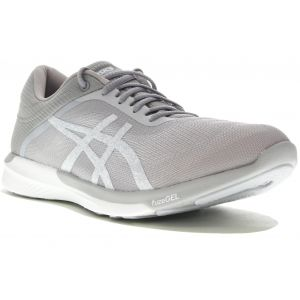 Asics FuzeX Rush W Chaussures running femme Gris/argent - Taille 39