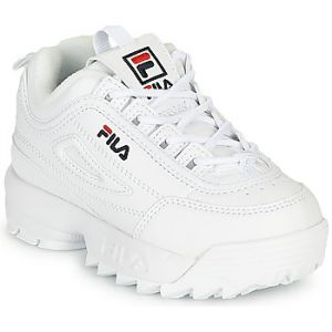 FILA Baskets basses enfant Disruptor Infants Blanc - Taille 22,25,26,27,23 1/2