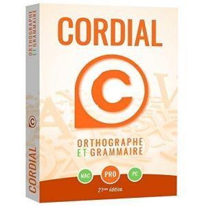 Cordial 21 Pro : correcteur et dictionnaires du français [Windows]