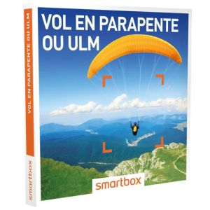 Smartbox Vol en parapente ou ULM - Coffret cadeau