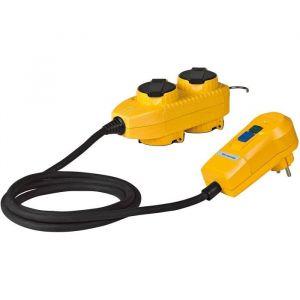 Brennenstuhl Adaptateur 4 prises powerblock + fiches 30mA 1132751
