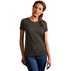Promodoro T-shirt Premium Femmes, XS, kaki