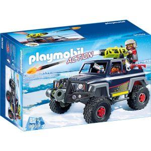 Playmobil 9059 Action - Véhicule tout terrain avec pirates des glaces