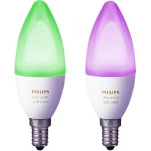 Image de Philips Hue White & Color Ambiance Flamme Duobox E14