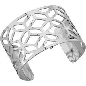 Les Georgettes Bracelet Alhambra Argent Large