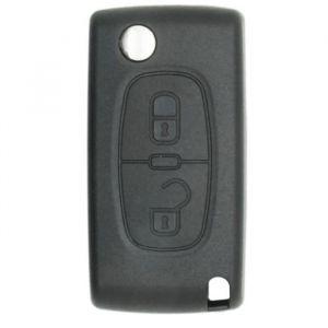 Neoriv Coque de clé télécommande adaptable + lame PSA207